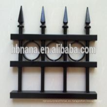 valla retráctil compuesto de aluminio al aire libre