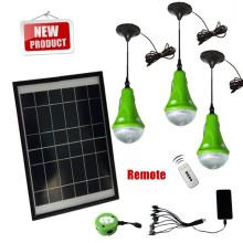 Sistema de energía solar portátil Mini para casas pequeñas, sistema casero de la energía solar, sistemas de energía solar