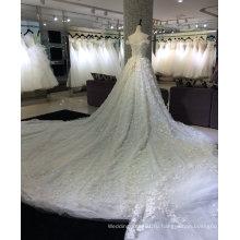 Принцесса шампанское свадебное платье со шлейфом 3 метра