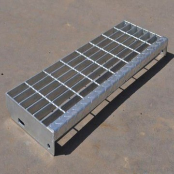 Galvanized Metal Grate Stair Treads