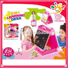 Heißer Verkauf Plastik 2 in 1 pädagogischem Spielzeug scherzt Lernen Schreibtisch