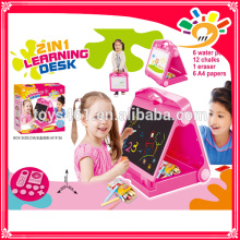 Hot Selling Plastic 2 In 1 Educational Toy Kids Learning Desk