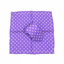 Cravates imprimées par logo fait sur commande et ensembles mignons pour des hommes