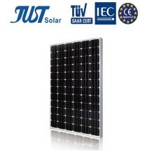Painel solar solar de 310W Mono da tecnologia para a iluminação do diodo emissor de luz da rua