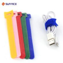 Super qualité unique crochet boucle boucle d'attache de câble