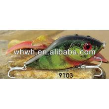 Empurrão isca isca de pesca plástico rígido 100mm / 47g