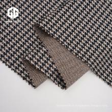 Tissu Jacquard pied-de-poule en coton pour accessoires de vêtement