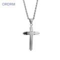 Custom Stainless Steel Cross Kalung Mens