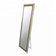 Antique PS framed rectangular 24 x 48 wall mirror