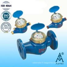 Compteur d'eau roue Vane Multi Jet Type sec