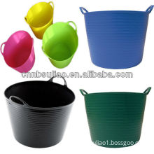 water garden bucket,plastic water bucket