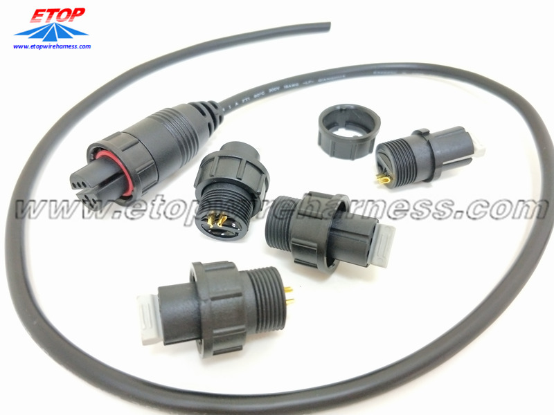 Penyambung kalis air IP68 overmolding cable