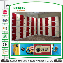 Coin Operated Lock ABS Plastic Lockers