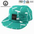 Sombrero de algodón de la verde menta de la moda del sombrero de algodón de la Caliente-Venta 2016