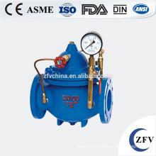 Soupape de contrôle usine prix multifonctionnel eau pompe, eau flotteur Vanne, vanne de régulation de niveau d'eau