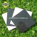 JINBAO 0.5MM 0.8MM 1 1.5mm 2 colle latérale taille personnaliser noir PVC feuille prix