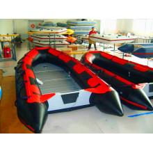 Auffälliges PVC-Schlauchboot der SD-Serie, vielseitige Funktion zum Rudern, Driften und Rennen