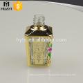 purple colored square empty cheap uv glass nail polish bottle