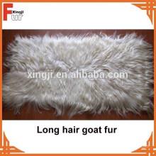 China-Hersteller-lange Haar Ziegen-Haut-Platte