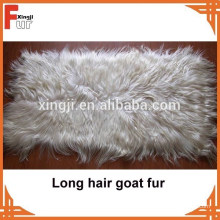 Placa larga de la piel de la cabra del pelo del fabricante de China
