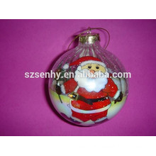 Hand made Inner painting christmas glass ball