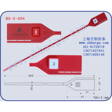 Plastic Security SealBG-S-004