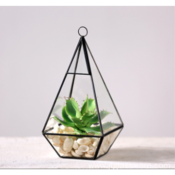 New Product Indoor Geometric Glass Hanging Terrarium