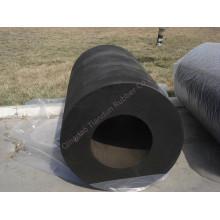 Guardabarros de caucho cilíndrico / guardabarros marinos (TD-C150X75XL)