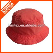 Atacado Red Customized Cheap Bucket Chapéus