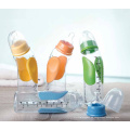 Neue Produkte! Hot Selling PP Material 240ml Anti-Rutsch-Baby Fütterung Flasche