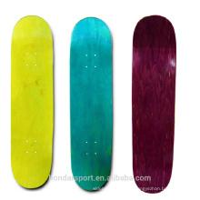 2016 barato en blanco en blanco duro arce skateboard decks para la venta