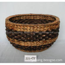 Container Gardening Water Hyacinth High Quality Woven Basket