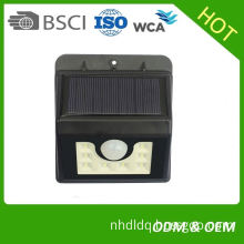 Decorative Wall Mounted Outdoor Solar Step Wall Lights Waterproof