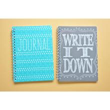 Le cahier fait sur commande de choix populaire de fantaisie populaire, cahier d'école en spirale pour des étudiants