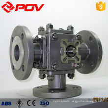 Flange ball valve stainless steel 3 way ball valve