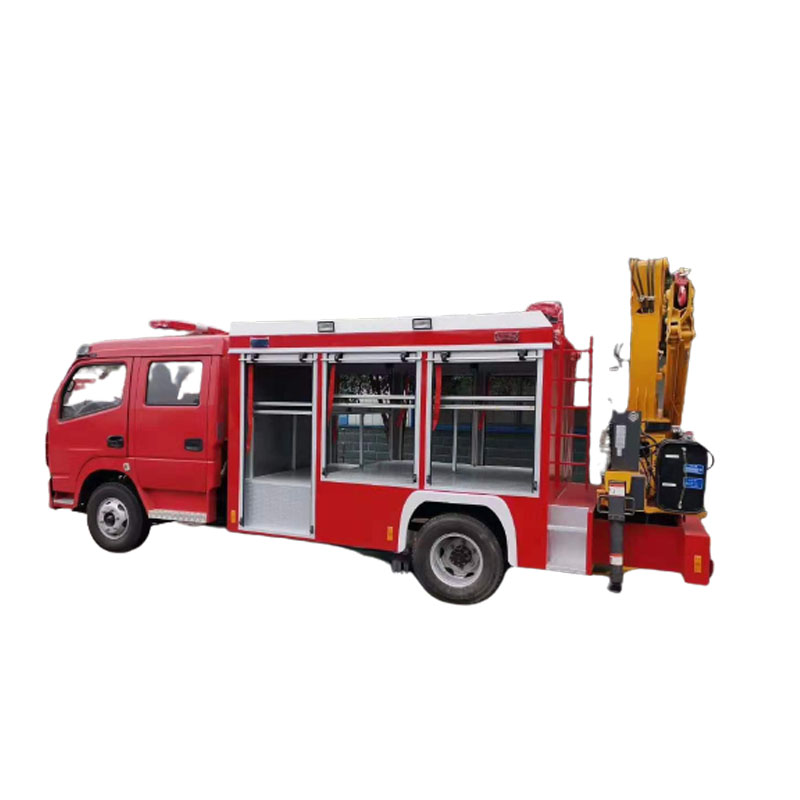 Fire Fighting Truck 1