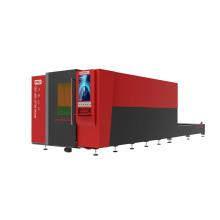 Máquina de corte láser de plataforma de intercambio para chapa