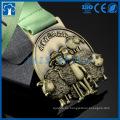Medallas de fábrica de venta al por mayor de buena calidad die casting medalla de metal personalizado