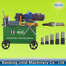 Thread rolling machine steel rod threading membuat mesin