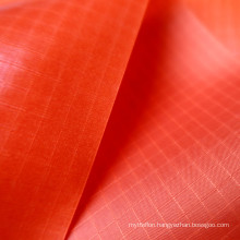 Factory Price TPU 210T Nylon Check Waterproof Fabric WIth Good Air Tightness Used For Inflatable Products