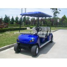 Heißer verkauf 4 sitzer billig 4 rad elektrische golfwagen preis in China