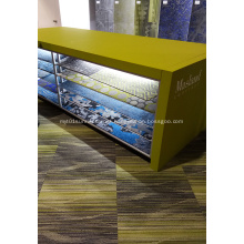 Nylon square carpet tile with pvc backing