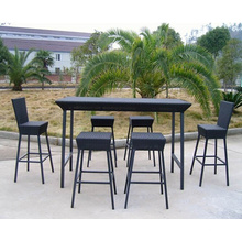 Outdoor Patio Rattan Bar Furniture Sets