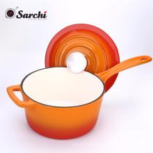 Соус кастрюля суп горшок чугунная эмаль