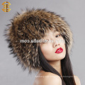 Factory Wholesale Price Fashion Russian Fur Pattern Winter Hat