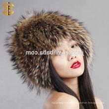 Fábrica de moda de precio al por mayor ruso patrón de piel de invierno Hat