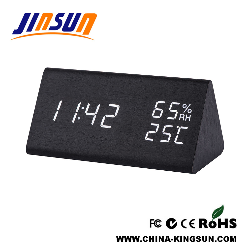 New Led Clock With Temperature And Humidity