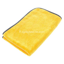 Serviette de lavage de voiture en microfibre Magic de haute qualité