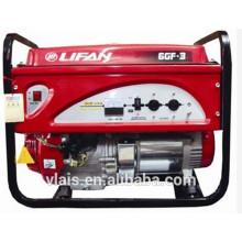 6kw reliable performance open type Gasoline Generator