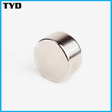 Cilindro de imán permanente fuerte NdFeB de alta calidad